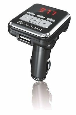 DD62 DNT MusicFly Select High-End Auto FM-Transmitter F-Scan-Funktion, SD-Karten