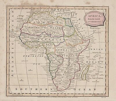 Africa, from the Best Authorities by James Barlow c1806
