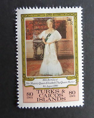 Turks & Caicos 1980 Queen Mother 80th Birthday SG607  MNH UM Unmounted mint x