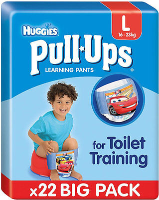 Huggies Pull Ups Potty Training Pants for Boys Size 6 Large 16-23kg (22)