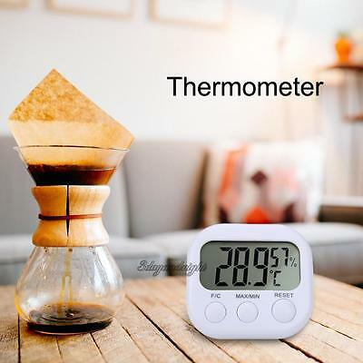 Digital LCD Thermometer Home Indoor Hygrometer Meter Gauge Temperature Humidity