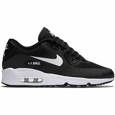 Nike Air Max 90 BR GS Black New Women's/Girl's/Boy's Trainers 100% Authentic