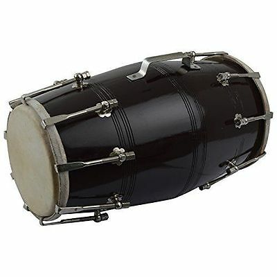 Dorpmarket Musical Screw Fitted Dholak Black