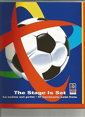 """WORLD CUP 2006 - """"The Stage is Set"""" 46 page coloured brochure"""