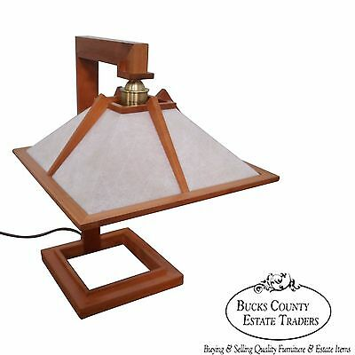 Solid Cherry Studio Crafted Arts & Crafts Table Lamp