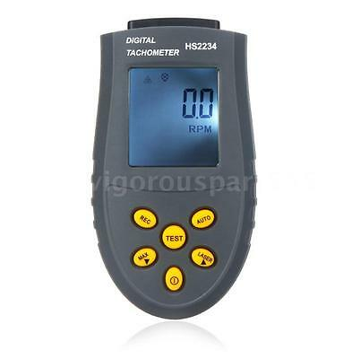 Handheld Digital Laser Tachometer RPM Test Small Engine Motor Speed Gauge L2Q3