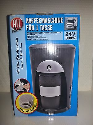 Machine Cafe Cafetiere Camion Routier 24 V 24V Dosette Poids Lourd Voyage 57