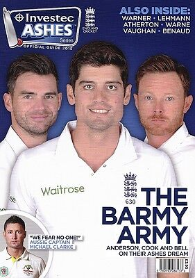 Investic Ashes Series Official Guide 2015