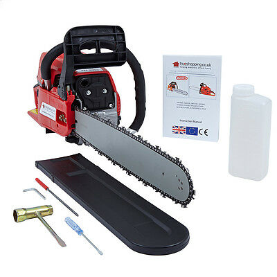 Raptor 52cc 20 Inch Bar 2-Stroke Chainsaw NEW BOXED UNWANTED 'GIFT'