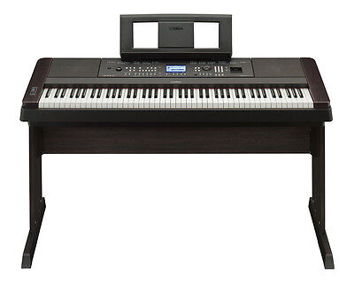 Yamaha DGX-650 Digital 88 Key Keyboard Piano - Black (DGX 650 BK DGX650 Black)