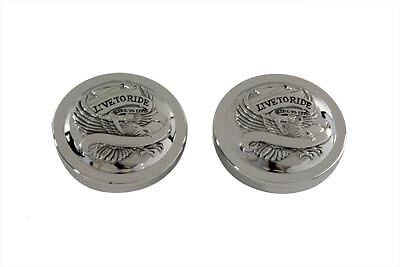 Eagle Spirit Gas Cap Set Vented and Non-Vented,for Harley Davidson motorcycles,