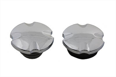 Maltese Cross Vented and Non-Vented Gas Cap Set,for Harley Davidson motorcycles,