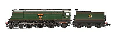 Hornby BR 4-6-2 Exeter West Country Class BR Green R3115 - Free Shipping
