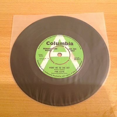 """1968 UK A/PROMO 7"""" Point Me At The Sky PINK FLOYD [MISPRINT] Demo 45 EX"""