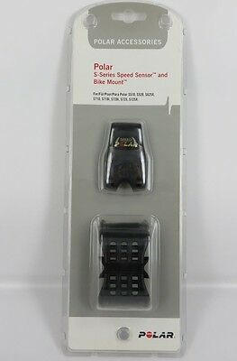 POLAR S-Series SPEED SENSOR AND BIKE MOUNT Accessories NEW IN BOX unused