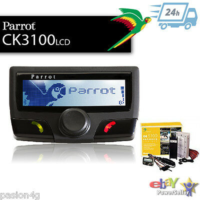 Parrot CK3100 Pantalla LCD , PRECINTADO Kit manos libres Bluetooth Car Kit