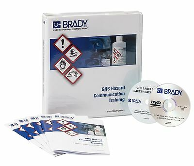 Brady Training Program Kit, Globally Harmonized System, DVD, 132428 |NV4|