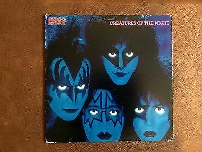 KISS Creatures of the Night LP 1st pressing USA NM!!!