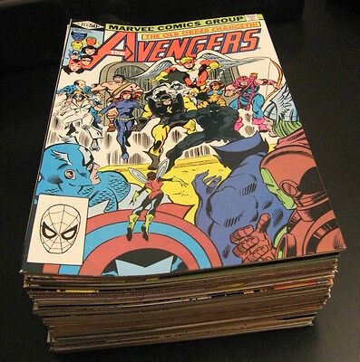 Wow! Mega-Run of *45* NM/NM- AVENGERS: #211-246 COMPLETE + Anns + 8 More *GEMS!*