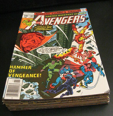 Wow! *10* Gorgeous Hi-Grade AVENGERS #165,167,168,172-5,178-180  NM 9.2/9.4 GEMS
