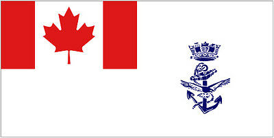 """Large High Quality The Canadian Navy Flag 3'X5' - Indoor/Outdoor - 36""""X60"""""""