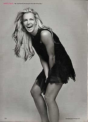 Britney Spears 4 Page Clipping