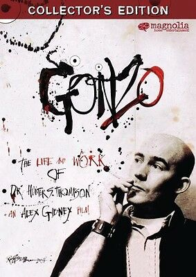 Gonzo: The Life and Work of Dr. Hunter S. Thompson (2008, DVD NUOVO) (REGIONE 1)