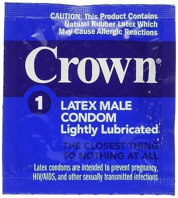 24 Okamoto Crown Condoms World Famous Super Thin and Sensitive Condom for Ext...
