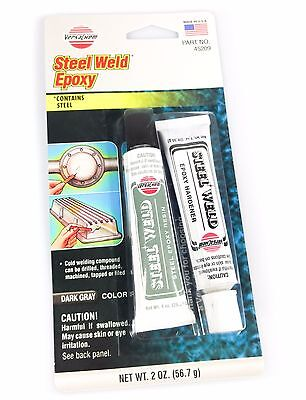 VersaChem 2oz Steel Weld Epoxy Cold Welding Adhesive Auto Repair Metal Bonding