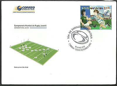 ARGENTINA 2010 IRB JUNIOR RUGBY CHAMPIONSHIPS 1v FDC