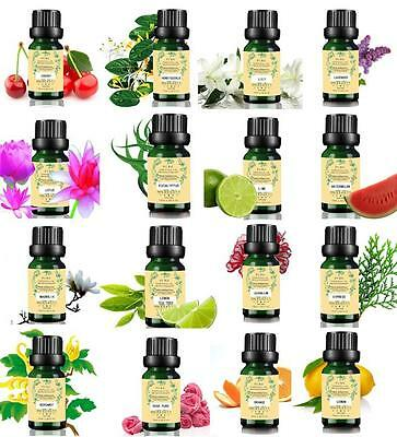 62 Scents 100% Natural Pure Essential Oils 10ml Aromatherapy Therapeutic Grade V