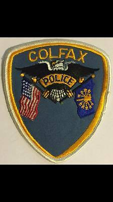 Colfax Indiana Police Sheriff Patch