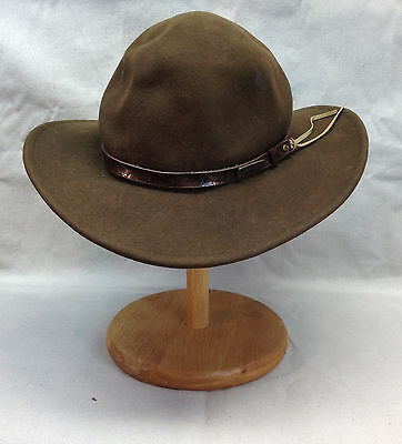 Indiana Jones Headwear Collection Wool Felt Outback Hat w/ Tails 2008 Style 555