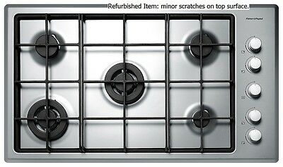 Fisher & Paykel CG905DWFCX1 90cm 5 Burner Natural Gas Cooktop Kitchen Cook Top