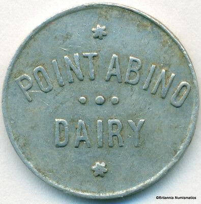 ONTARIO, Point Abino Dairy Good For 4c With Small Empty Bottle Inv #44