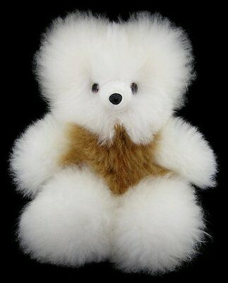 Rare Super Soft 100% Alpaca Fur Teddy Bear 14""