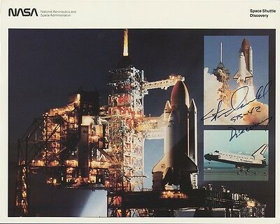 STEVE OSWALD Signed Photo - STS-42 Discovery