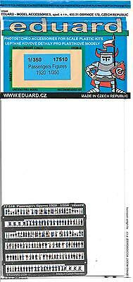 Eduard Painted Photo Etch Passenger Figures, 1920 in 1/350 17510 ST