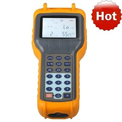 RY-S110 CATV Cable TV Handle Digital Signal Level Meter DB Tester Detectors