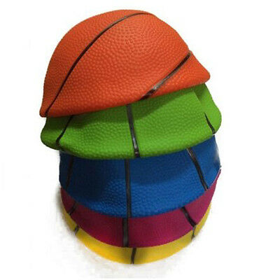 """1X Mixed Colorful Sizes Inflatable PVC Basketball Kid Toy Fun 4"""" 6"""" 8"""" RX"""