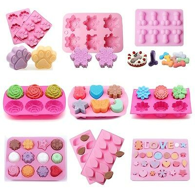 DIY Silicone Cake Decorating Mould Candy Cookies Soap Chocolate Baking Mold