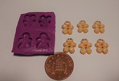 1:12 Scale Ginger Bread Man Mold - Mould Dolls House Miniature Food Accessory