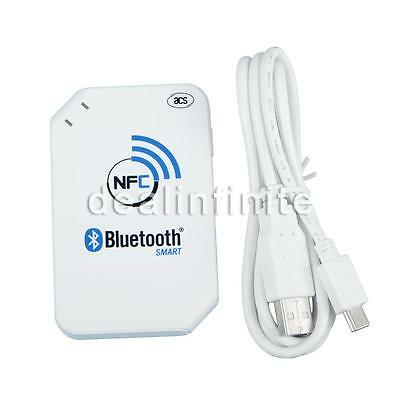 Portable ACR1255U RFID NFC Wireless Bluetooth Card Reader Support ISO14443 S50 C