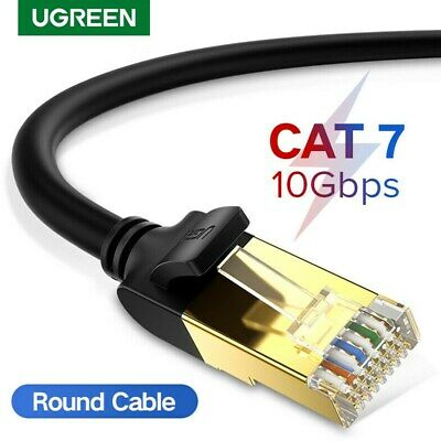 Ugreen High Speed Cat7 RJ45 Ethernet Lan Network Cable Cord for PC Laptop 10Gbps