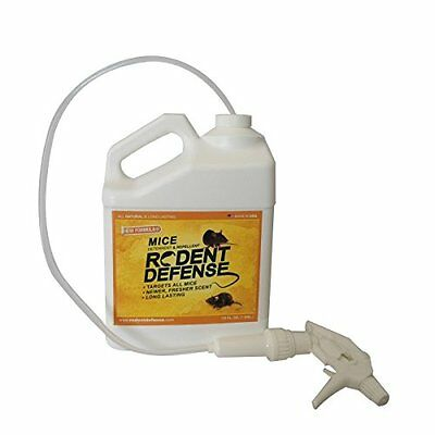 Rodent Defense - Pest Control Natural Materials Mice Rodents 3.6L Bottle