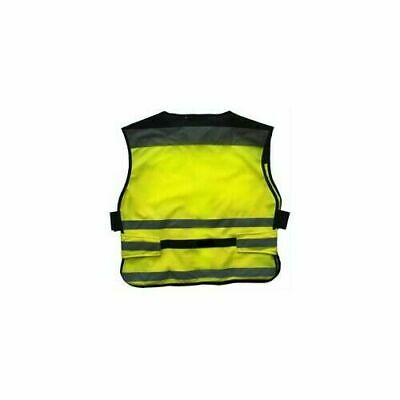 Equisafety Air Hi-Vis Waistcoat Plain - Rider Safety Wear