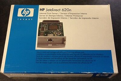 Retail Boxed HP Jetdirect 620n Fast Ethernet Print Server (J7934G)