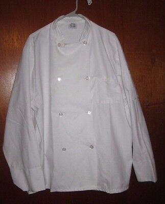 Kitchen Krew Chef Coat - White - Size Large