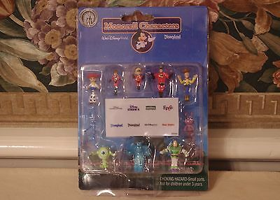 Disney Monorail Characters Playset Toy Story Incredibles Monsters Inc Bug's Life