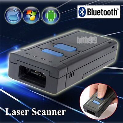 MJ2877 Bluetooth 4.0 Laser Scanner 2D Barcode Data Reader For iPhone Android IB